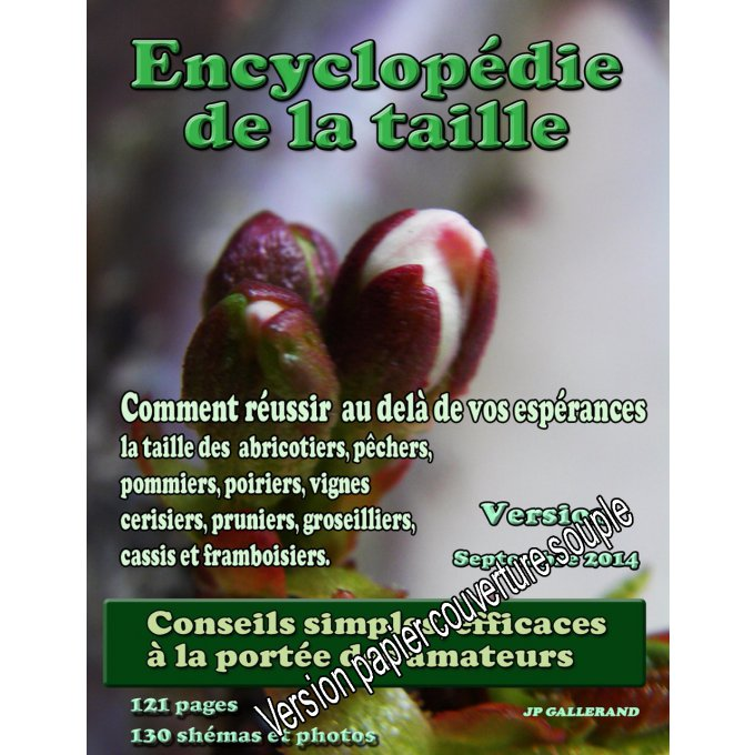 L'Encyclopédie de la taille version papier 'N&B' (papier)